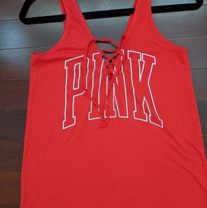 Victoria's Secret PINK Laced Muscle Tank